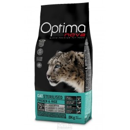 Visán Optima Nova Cat Sterilised 8 kg + !!!! DOPRAVA ZDARMA !!!!!
